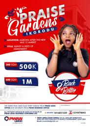 Mixed   Use Land Land for sale Praise Garden Estate Agbowa After The new Mile 12 Ikorodu Ikorodu Lagos