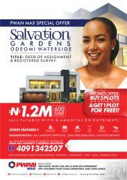 Mixed   Use Land Land for sale Salvation Gardens Odeomi Water Side Estate LaCampaigne Tropicana Ibeju-Lekki Lagos