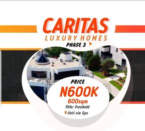 Residential Land Land for sale Addyholly Caritas Luxury Home Epe Road Epe Lagos