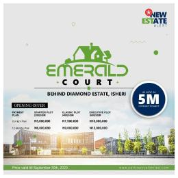 Residential Land Land for sale Emerald Court, Behind Diamond Estate, Isheri Olofin, Lagos. Alimosho Lagos