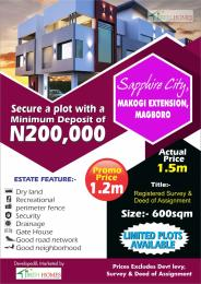 Residential Land Land for sale Makogi Extension Magboro  Ifo Ifo Ogun