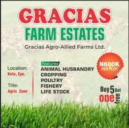 Commercial Land Land for sale KETU, EPE, LAGOS STATE. Ketu Lagos