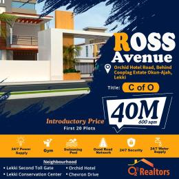 Mixed   Use Land Land for sale Off Orchid hotel road, behind cooplag estate, Chevron, Lekki chevron Lekki Lagos