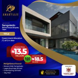 Residential Land for sale Behind Novarre Mall Sangotedo Lagos