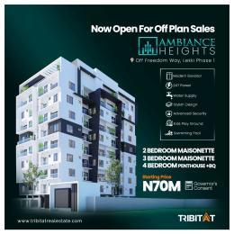 4 bedroom Penthouse Flat / Apartment for sale Off Freedom Way, Lekki Phase 1 Lekki Phase 1 Lekki Lagos