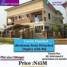 4 bedroom Semi Detached Duplex House for sale Amity Estates Abijo Abijo Ajah Lagos
