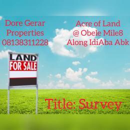 Residential Land Land for sale Idi Aba Abeokuta Ogun