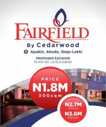 Serviced Residential Land Land for sale Apakin, akodo ibeju lekkj Free Trade Zone Ibeju-Lekki Lagos