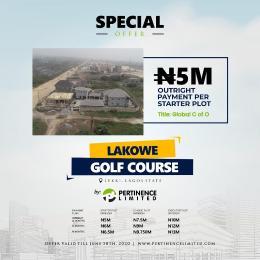 Residential Land Land for sale Lakowe, golf course  Lagos Island Lagos Island Lagos
