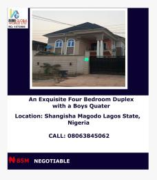 4 bedroom House for sale Shangisha Magodo lagos state Ajah Lagos