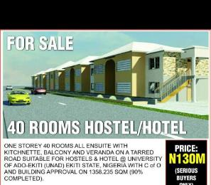 10 bedroom Hotel/Guest House Commercial Property for sale UNAD Ado-Ekiti Ekiti