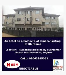 10 bedroom Hotel/Guest House Commercial Property for sale Rumaholu pipeline by overcomer church Port Harcourt Nigeria Port Harcourt Rivers