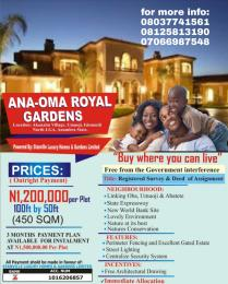 Residential Land Land for sale Idemili North Anambra