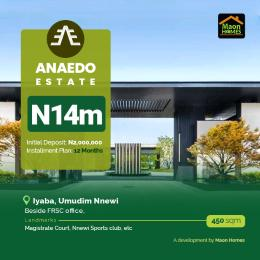 Residential Land Land for sale Beside FRSC office Nnewi North Anambra