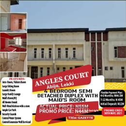 5 bedroom Semi Detached Duplex House for sale Majek Sangotedo Lagos
