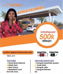 Land for sale Ajegunle Osoroko Ibeju-Lekki Lagos