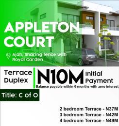 2 bedroom Terraced Duplex House for sale Appleton Court Sangotedo Ajah Lagos