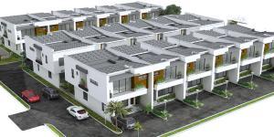 4 bedroom Terraced Duplex for sale Sharing Fence With Royal Garden Abraham adesanya estate Ajah Lagos
