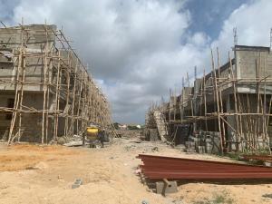 3 bedroom Terraced Duplex for sale Sharing Fence With Royal Garden Abraham adesanya estate Ajah Lagos