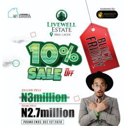 Serviced Residential Land for sale Livewell Estate Ogogoro Ibeju-Lekki Lagos