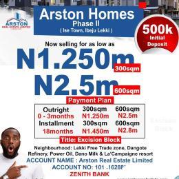 Residential Land for sale 15min From Lekki Free Trade Zone Ise town Ibeju-Lekki Lagos
