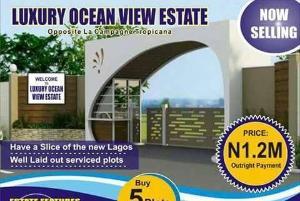 Land for sale Ocean view estate,alfa beach road,lekki Lekki Lagos
