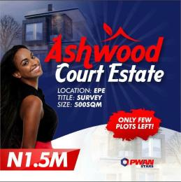 Residential Land Land for sale Ilara Tow, Epe.  Epe Road Epe Lagos