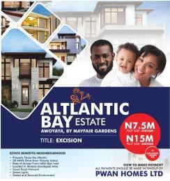 Residential Land for sale  Free Trade Zone Ibeju-Lekki Lagos