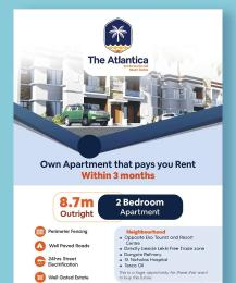 2 bedroom Mini flat Flat / Apartment for sale The Atlantica..beside the free trade zone . opp Eko Tourist and Resort Center , beside lekki free trade zone  Free Trade Zone Ibeju-Lekki Lagos