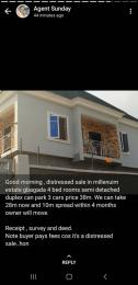 4 bedroom Detached Duplex House for sale Millennium Estate Millenuim/UPS Gbagada Lagos