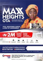 Land for sale Ado Odo/Ota Ogun