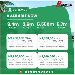 Land for sale Odo- Egiri Epe Lagos