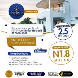 Land for sale Ilara Road Epe Lagos