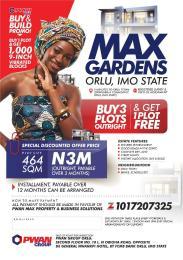 Land for sale Max Gardens Estate Orlu Imo