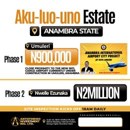 Commercial Land Land for sale Anambra international city project Anambra East Anambra