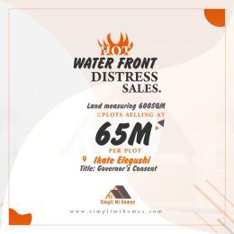 Residential Land Land for sale Water Front Distress Sales In Elegushi Ikate Lekki Lagos