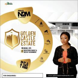 Residential Land Land for sale Golden Castle Estate In Eredo Epe Road Epe Lagos