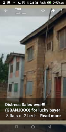 Blocks of Flats House for sale Oluyole extension ibadan Oluyole Estate Ibadan Oyo