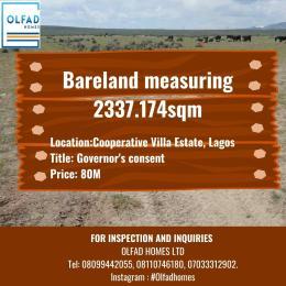 Land for sale Cooperative Estate Villa, Badore, Ajah Badore Ajah Lagos