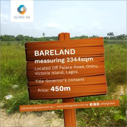 Mixed   Use Land Land for sale Off palace road ONIRU Victoria Island Lagos