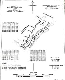 Land for sale Orange Island Lekki Phase 1 Lekki Lagos