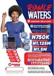 Mixed   Use Land Land for sale Royal Waters Igbogun  LaCampaigne Tropicana Ibeju-Lekki Lagos