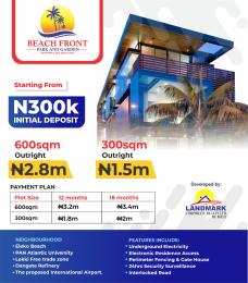 Residential Land Land for sale Enukunmi Town, Off Eleko Road, Ibeju Lekki, Few Minutes From Eleko Beach. Ibeju-Lekki Lagos