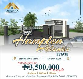 Residential Land Land for sale Costal Road Debojo, Eleko Lagos. Eleko Ibeju-Lekki Lagos