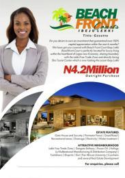 Land for sale Beachfront street, ibeju lekki,  lagos Free Trade Zone Ibeju-Lekki Lagos