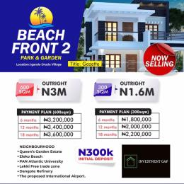Mixed   Use Land Land for sale Beachfront has a high returns on investment one of the features is that property close to the beach appreciates fast and it's in a close proximity to Amen Estate Eleko Beach, Lekki Free trade Zone, Vila Rica Resort Eleko Ibeju-Lekki Lagos