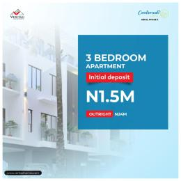 3 bedroom Mini flat Flat / Apartment for sale Camberwall Courts 2, 4 Minutes From Novare Shoprite Abijo Ajah Lagos