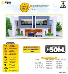 3 bedroom Semi Detached Duplex House for sale Lekki pride Estate Abraham Adesanya Ajiwe Ajah Lagos