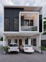 4 bedroom Terraced Duplex for sale Primrose Court Estate chevron Lekki Lagos