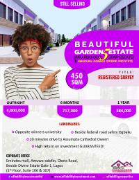 Residential Land for sale Opposite Winners University Owerri Imo